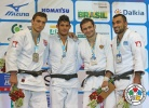Asley Gonzalez (CUB), Varlam Liparteliani (GEO), Ilias Iliadis (GRE), Kirill Denisov (RUS) - World Championships Rio de Janeiro (2013, BRA) - © IJF Media Team, IJF