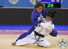 Olfa Saoudi (TUN) - World Championships Juniors Ljubljana (2013, SLO) - © IJF Media Team, International Judo Federation