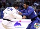 Pierre Duprat (FRA), Zebeda Rekhviashvili (GEO) - Grand Prix Budapest (2014, HUN) - © IJF Media Team, International Judo Federation