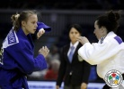 Andreea Chitu (ROU), Zhanna Stankevich (ARM) - Grand Prix Düsseldorf (2014, GER) - © IJF Media Team, International Judo Federation