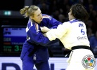 Kana Abe (JPN), Martyna Trajdos (GER) - Grand Prix Düsseldorf (2014, GER) - © IJF Media Team, International Judo Federation