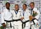 Kayla Harrison (USA), Audrey Tcheumeo (FRA), Yalennis Castillo (CUB), Luise Malzahn (GER) - Grand Prix Havana (2014, CUB) - © IJF Media Team, International Judo Federation
