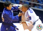 Amandine Buchard (FRA), BoKyeong Jeong (KOR) - Grand Prix Jeju (2014, KOR) - © IJF Media Team, International Judo Federation