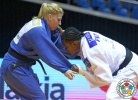 Audrey Tcheumeo (FRA), Kayla Harrison (USA) - Grand Prix Jeju (2014, KOR) - © IJF Media Team, International Judo Federation