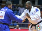 Teddy Riner (FRA), Vladut Simionescu (ROU) - Grand Prix Jeju (2014, KOR) - © IJF Media Team, International Judo Federation