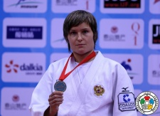 Natalia Kuziutina (RUS) - Grand Prix Qingdao (2014, CHN) - © IJF Media Team, International Judo Federation