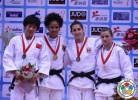 Miryam Roper (PAN), Yang Liu (CHN), Jovana Rogic (SRB), Sanne Verhagen (NED) - Grand Prix Qingdao (2014, CHN) - © IJF Media Team, International Judo Federation