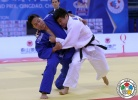 Shuai Sun (CHN), Khishigbayar Buuveibaatar (MGL) - Grand Prix Qingdao (2014, CHN) - © IJF Media Team, International Judo Federation