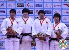 Song Yu (CHN), Rui Wang (CHN), Nami Inamori (JPN), Qian Qin (CHN) - Grand Prix Qingdao (2014, CHN) - © IJF Media Team, International Judo Federation