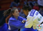 Jovana Rogic (SRB), Nekoda Smythe-Davis (GBR) - Grand Prix Zagreb (2014, CRO) - © IJF Media Team, International Judo Federation