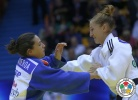 Monica Ungureanu (ROU), Julia Figueroa (ESP) - Grand Prix Zagreb (2014, CRO) - © IJF Media Team, International Judo Federation
