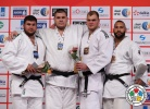 Daniel Natea (ROU), Vladut Simionescu (ROU), Maciej Sarnacki (POL), Roy Meyer (NED) - Grand Slam Abu Dhabi (2014, UAE) - © IJF Media Team, International Judo Federation