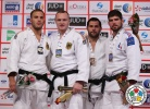 Dimitri Peters (GER), Karl-Richard Frey (GER), Cyrille Maret (FRA), Lyes Bouyacoub (ALG) - Grand Slam Abu Dhabi (2014, UAE) - © IJF Media Team, International Judo Federation
