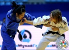 Amelie Rosseneu (ISR), Aigul Baikuleva (KAZ) - Grand Prix Astana (2014, KAZ) - © IJF Media Team, International Judo Federation