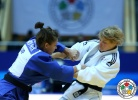 Sabrina Filzmoser (AUT), Hedvig Karakas (HUN) - Grand Prix Astana (2014, KAZ) - © IJF Media Team, International Judo Federation