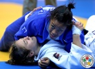 Nekoda Smythe-Davis (GBR), Stéfanie Tremblay (CAN) - Grand Prix Astana (2014, KAZ) - © IJF Media Team, International Judo Federation