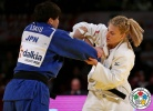 Ruika Sato (JPN), Kayla Harrison (USA) - Grand Slam Tokyo (2014, JPN) - © IJF Media Team, International Judo Federation
