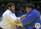 Levani Matiashvili (GEO), Takeshi Ojitani (JPN) - Grand Slam Tokyo (2014, JPN) - © IJF Media Team, International Judo Federation