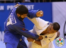 Tsagaanbaatar Khashbaatar (MGL) - Grand Prix Ulaanbaatar (2014, MGL) - © IJF Media Team, International Judo Federation