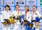 Catherine Beauchemin-Pinard (CAN), Makiko Otomo (JPN), Telma Monteiro (POR), Tina Zeltner (AUT) - Grand Prix Ulaanbaatar (2014, MGL) - © IJF Media Team, International Judo Federation