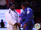 Maria Suelen Altheman (BRA), Idalys Ortiz (CUB),  RESPECT (IJF) - Grand Slam Paris (2014, FRA) - © IJF Media Team, International Judo Federation