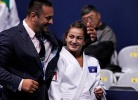 Driton Kuka (KOS), Majlinda Kelmendi (KOS),  MODESTY (IJF) - World Championships Rio de Janeiro (2013, BRA) - © IJF Media Team, International Judo Federation