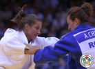Majlinda Kelmendi (KOS), Andreea Chitu (ROU) - World Championships Chelyabinsk (2014, RUS) - © IJF Media Team, International Judo Federation