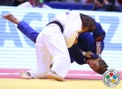 Sumiya Dorjsuren (MGL), Hedvig Karakas (HUN) - World Championships Chelyabinsk (2014, RUS) - © IJF Media Team, International Judo Federation