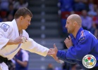 Ivan Nifontov (RUS), Alain Schmitt (FRA) - World Championships Chelyabinsk (2014, RUS) - © IJF Media Team, International Judo Federation