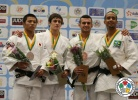 Egor Mgdsyan (RUS), Hifumi Abe (JPN), Ricardo Santos (POR), Baruch Shmailov (ISR) - World Championships Juniors Fort Lauderdale (2014, USA) - © IJF Media Team, International Judo Federation