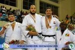 Faicel Jaballah (TUN), Bilal Zouani (ALG), Khaled Selim (EGY), Deo Gracie Ngokaba (COD) - African Games Brazzaville (2015, COD) - © African Judo Union