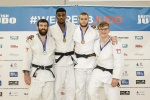 Philip Awiti-Alcaraz (GBR), Adam Hall (GBR), Rhys Thompson (GBR), Conor Murphy (GBR) - British Championships Sheffield (2015, GBR) - © Mike Varey - Elitepix, British Judo Association