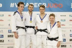 Lewis Keeble (GBR), Gregg Varey (GBR), Samuel Hall (GBR), Liam Ashton-Farr (GBR) - British Championships Sheffield (2015, GBR) - © Mike Varey - Elitepix, British Judo Association