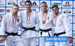 Rico Harder (NED), Dario Kurbjeweit Garcia (GER), Giovanni Carollo (ITA), Gábor Verbói (HUN) - European Cup Belgrade (2015, SRB) - © JudoInside.com, judo news, results and photos