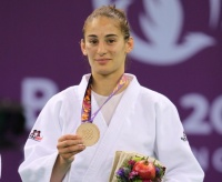 Nora Gjakova (KOS) - European Games Baku (2015, AZE) - © Emir Incegul, Turkish Judo Federation