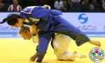 Mariana Silva (BRA), Martyna Trajdos (GER) - Grand Prix Düsseldorf (2015, GER) - © IJF Media Team, International Judo Federation