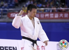 Ki-Chun Wang (KOR) - Grand Prix Qingdao (2015, CHN) - © IJF Media Team, International Judo Federation