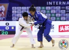 Gili Cohen (ISR), Yingnan Ma (CHN) - Grand Prix Qingdao (2015, CHN) - © IJF Media Team, International Judo Federation