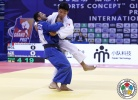Nijat Shikhalizada (AZE), Tumurkhuleg Davaadorj (MGL) - Grand Prix Qingdao (2015, CHN) - © IJF Media Team, International Judo Federation