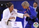 Sumiya Dorjsuren (MGL), Sabrina Filzmoser (AUT) - Grand Prix Qingdao (2015, CHN) - © IJF Media Team, International Judo Federation