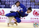 Ji-Yun Bak (KOR), Wen Zhang (CHN) - Grand Prix Qingdao (2015, CHN) - © IJF Media Team, International Judo Federation