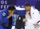 Goki Maruyama (JPN), Ivaylo Ivanov (BUL) - Grand Prix Qingdao (2015, CHN) - © IJF Media Team, International Judo Federation