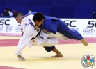 Sergiu Toma (UAE), Uuganbaatar Otgonbaatar (MGL) - Grand Prix Qingdao (2015, CHN) - © IJF Media Team, International Judo Federation