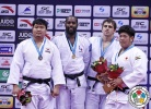 Teddy Riner (FRA), SungMin Kim (KOR), Oleksandr Gordiienko (UKR), Katsuma Ueda (JPN) - Grand Prix Qingdao (2015, CHN) - © IJF Media Team, International Judo Federation
