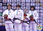 Song Yu (CHN), Sisi Ma (CHN), Svitlana Iaromka (UKR), Min-Jeong Kim (KOR) - Grand Prix Qingdao (2015, CHN) - © IJF Media Team, International Judo Federation