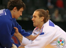 Sergiu Toma (UAE), Loïc Pietri (FRA) - Grand Prix Samsun (2015, TUR) - © IJF Media Team, International Judo Federation