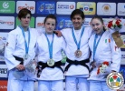 Distria Krasniqi (KOS), Ilse Heylen (BEL), Lisa Kearney (IRL), Agata Perenc (POL) - Grand Prix Samsun (2015, TUR) - © IJF Media Team, International Judo Federation