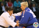 Gulzhan Issanova (KAZ), Jasmin Kuelbs (GER) - Grand Prix Samsun (2015, TUR) - © IJF Media Team, International Judo Federation