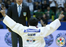 Mirali Sharipov (UZB) - Grand Prix Tashkent (2015, UZB) - © IJF Gabriela Sabau, International Judo Federation