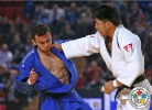 Tumurkhuleg Davaadorj (MGL), Baruch Shmailov (ISR) - Grand Prix Tbilisi (2015, GEO) - © IJF Media Team, International Judo Federation
